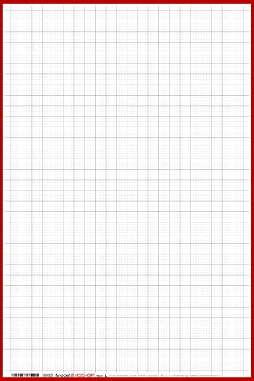 AmazonCom   X  Large Wet Erase  Graph Paper   Laminated