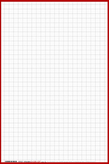 1 4 in graph paper