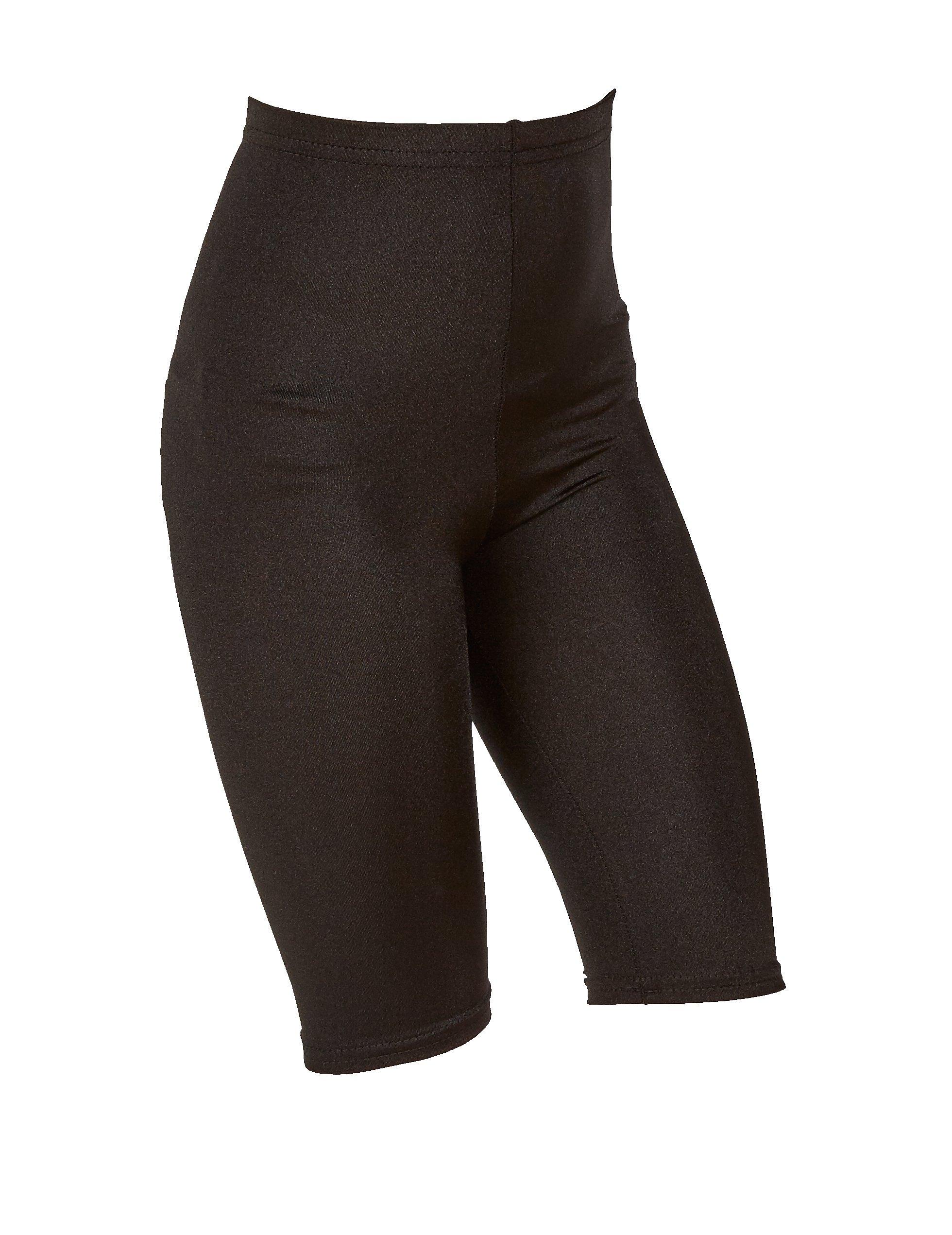 Girls Kids Nylon Lycra Sports Cycling Shorts School Gym Games Dance Shorts Pants