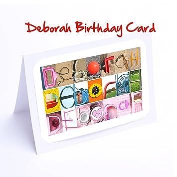 Fille De Cartes Personnalisé 7 X 5 Deborah Photo Carte D