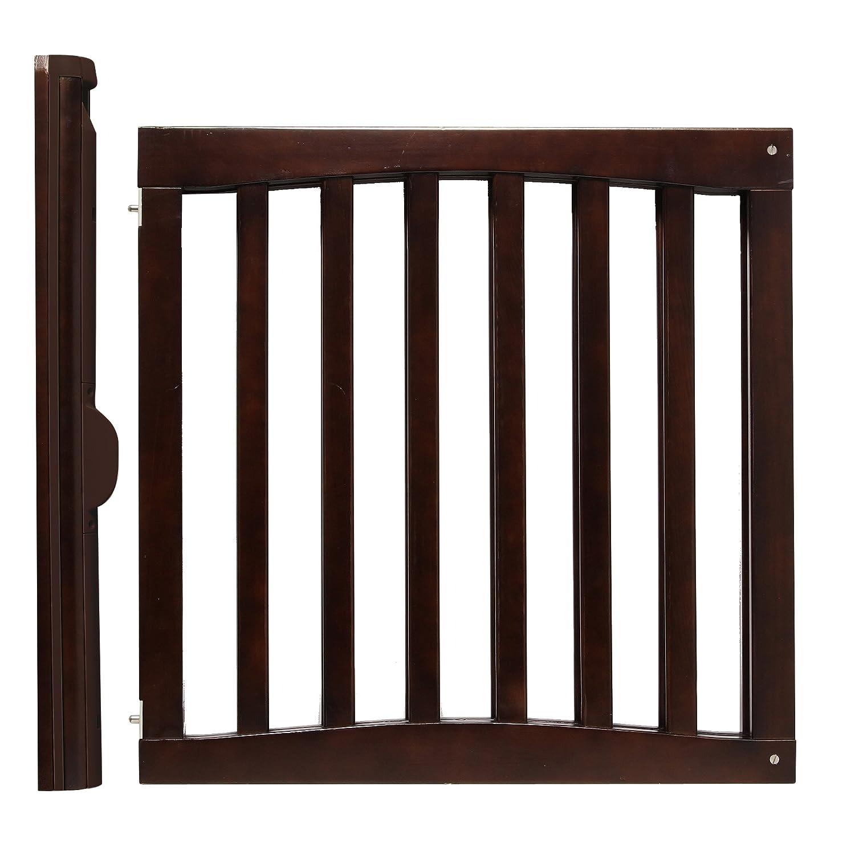 amazoncom  safety st wooden swing gate espresso  indoor  - amazoncom  safety st wooden swing gate espresso  indoor safety gates baby