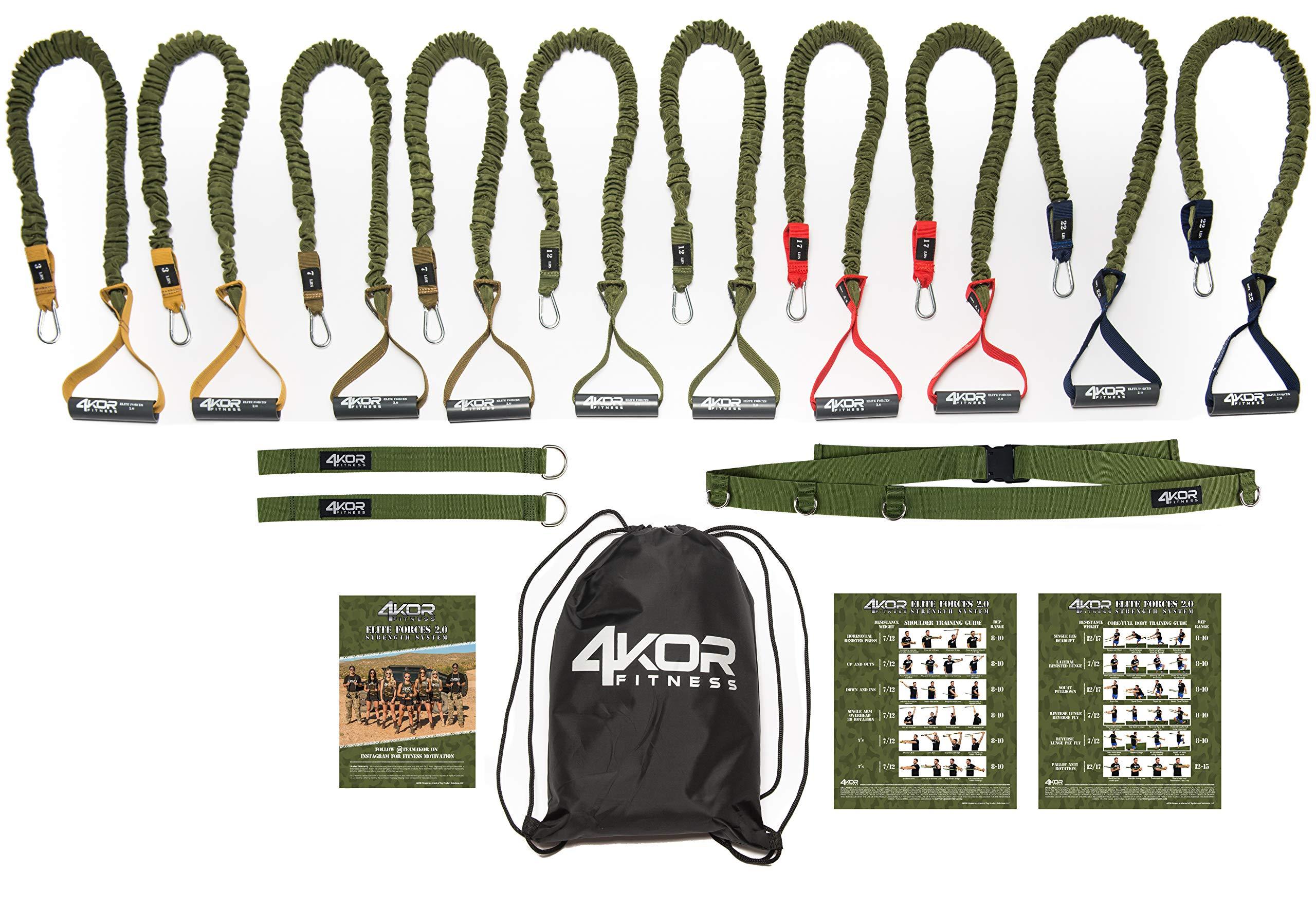4KOR Elite Forces 2.0 (5 Levels w/Door Strap) by 4KOR Fitness (Image #1)