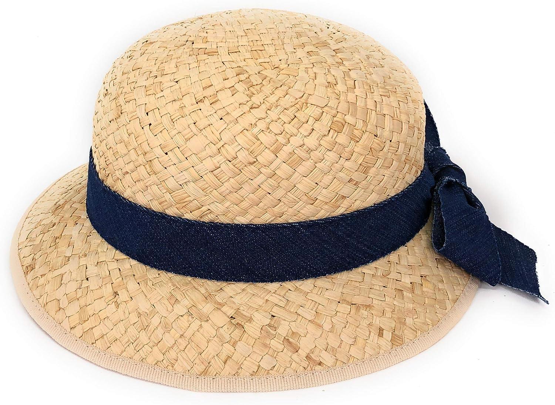 WEROR I WEROR-245 89317 Sombrero de Paja para ni/ña