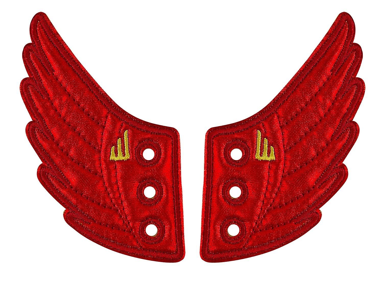 Shwings Ailettes de décoration pour baskets Rouge Boxer Gifts SHW403