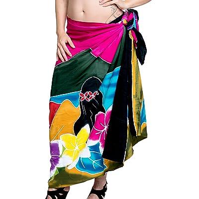 *La Leela* couvrir Beachwear bain enveloppement paréo maillots de bain jupe femmes sarong piscine usure usure de la station de maillot de bain wrap
