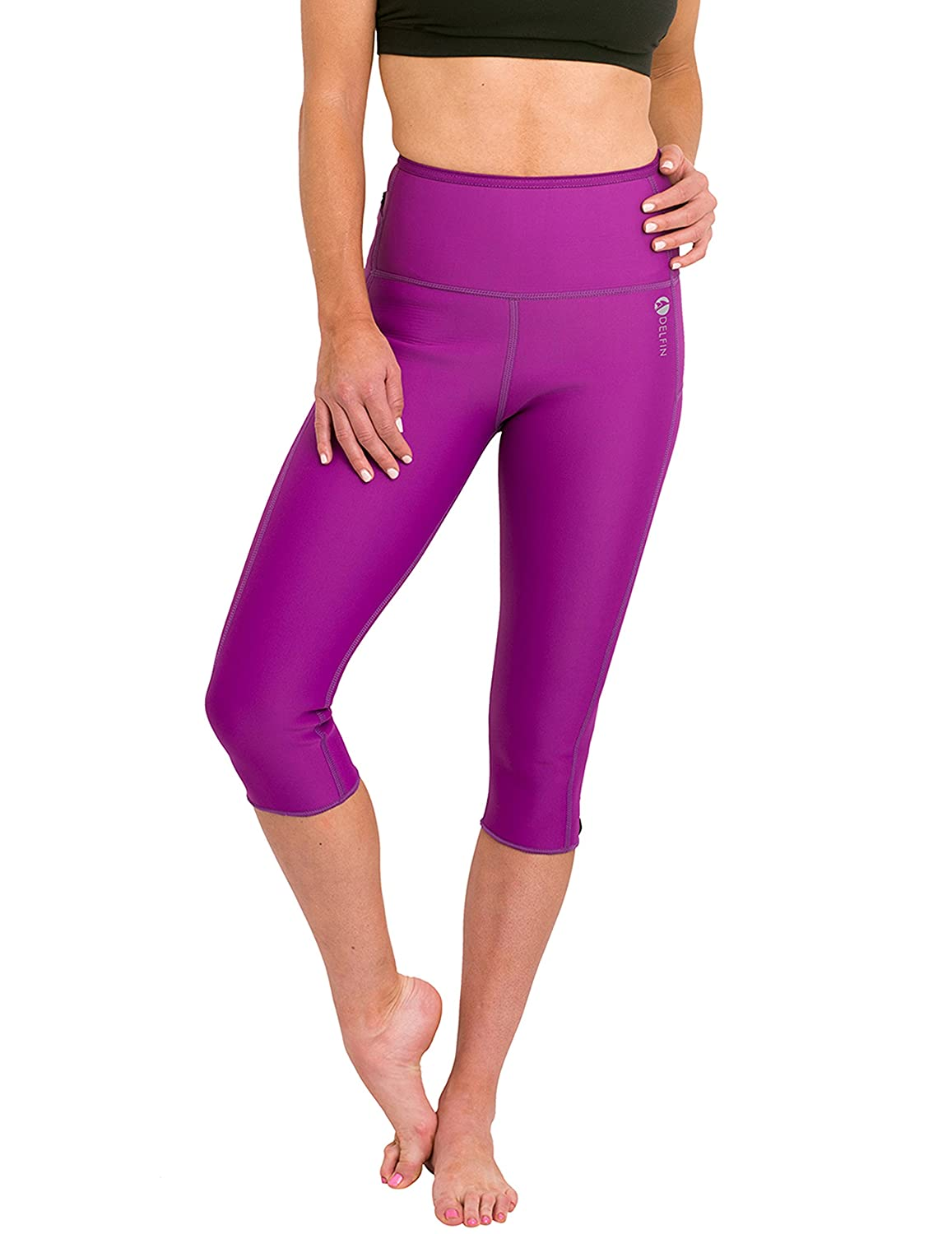 Delfin Spa Womens Heat Maximizing Neoprene Capri