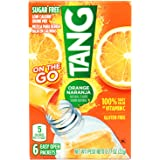 Tang On The Go Sugar Free Orange Powder Drink Mix Sachets, 6 Packets