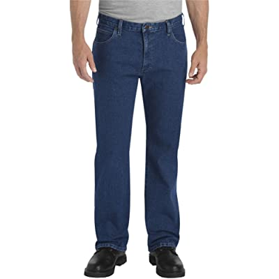 Dickies Men's Relaxed Straight 5-Pocket Flex Jean at Men's Clothing store