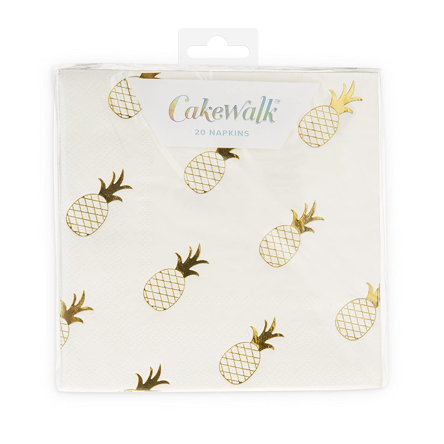 CakeWalk 7458 Pineapple Crush Cocktail Napkin One Size Multi Colored
