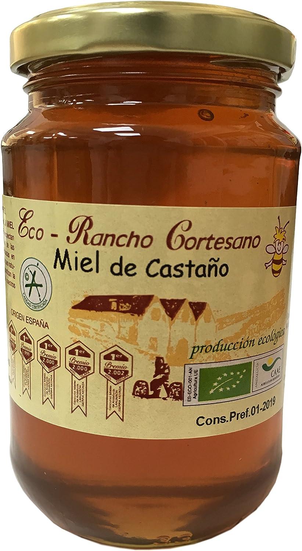 Miel de Ranco Cortesano - Miel cruda de Castaño 500gr Producción ...