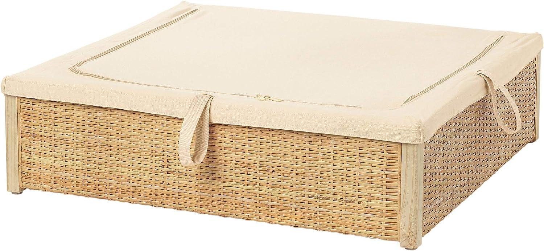 IKEA.. 403.298.92 Römskog - Caja de Almacenamiento para Debajo de la Cama (ratán): Amazon.es: Hogar