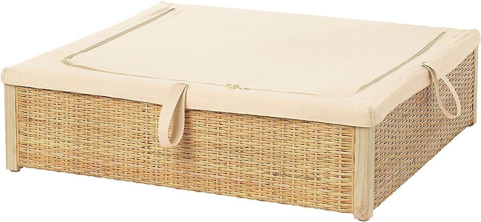 Ikea 403 298 92 Romskog Underbed Storage Box Rattan Amazon Co Uk Kitchen Home