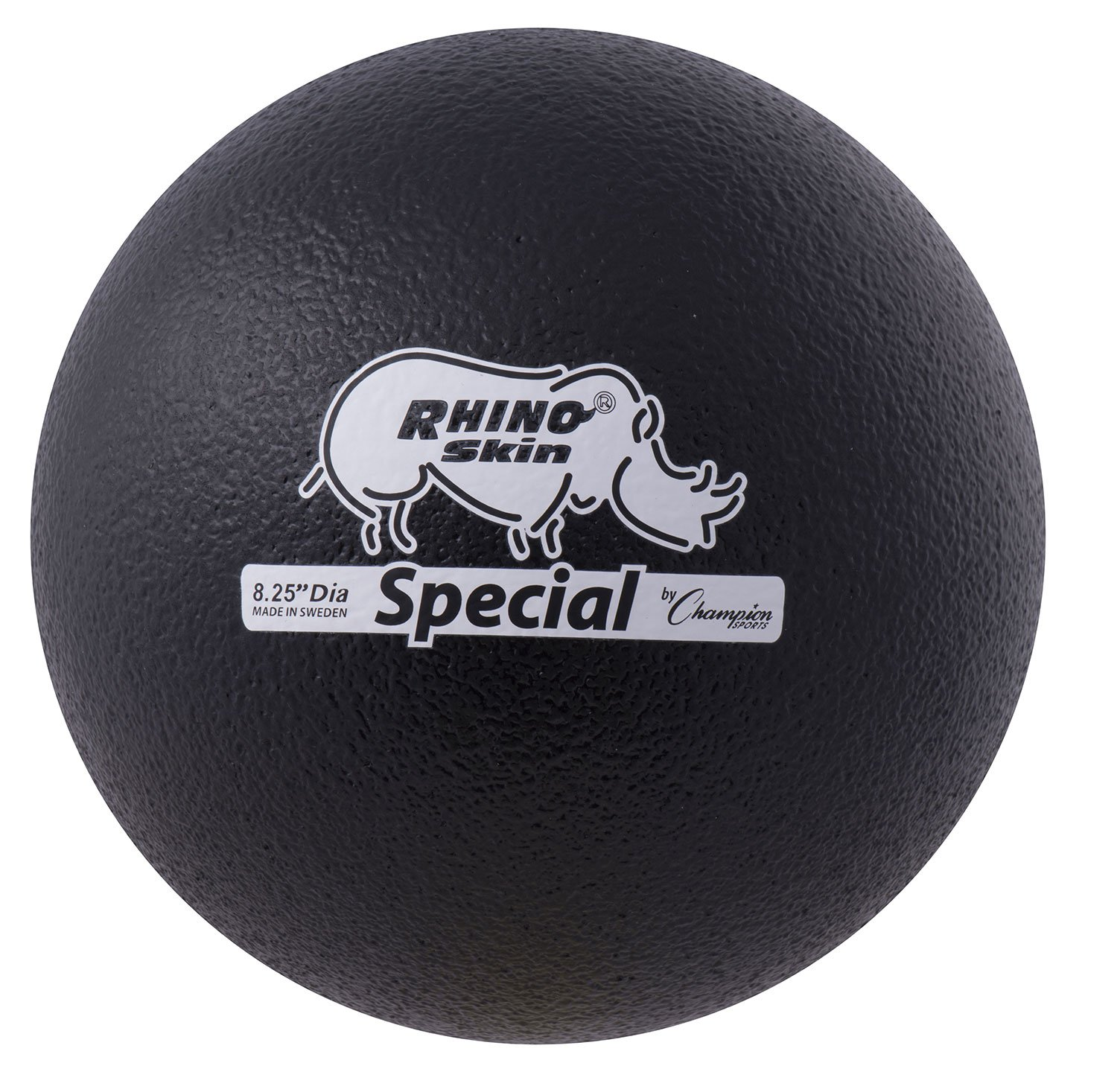 Champion Sports Rhino Skin Special Playground Ball, Black by Champion Sports (Image #1)