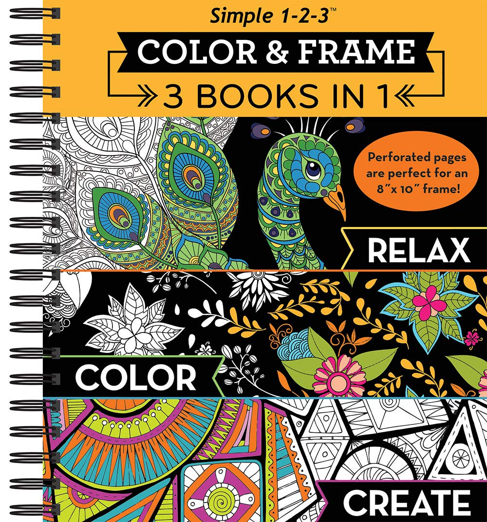 Color Frame Coloring Book Create product image