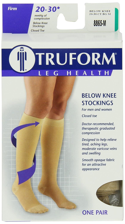 b7adb8d8d23 Amazon.com  Truform 20-30 mmHg Compression Stockings for Men and Women
