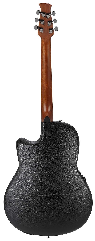 Ovation aplausos Elite acústica guitarra eléctrica - Trans rojo llama: Amazon.es: Instrumentos musicales