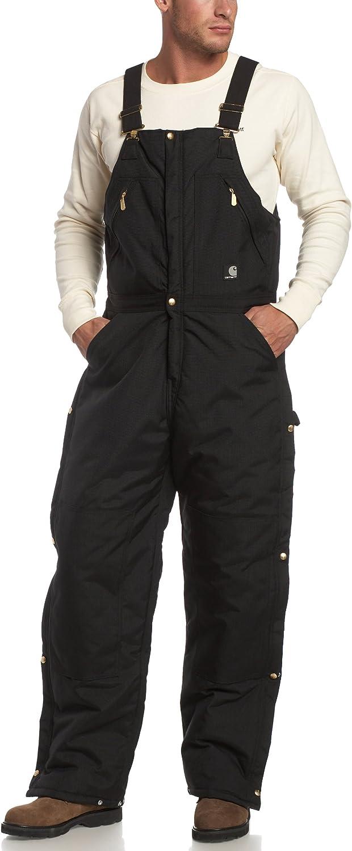 B0000WL7OQ Carhartt Men's Yukon Arctic Quilt Lined Zip to Waist Biberalls R33 81KKaCsCxjL