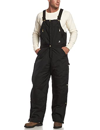 e9f464a0667 Amazon.com: Carhartt Men's Yukon Arctic Quilt Lined Zip to Waist Biberalls  R33: Overalls And Coveralls Workwear Apparel: Clothing