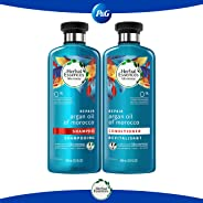 Herbal Essences Pack Herbal Essences Bíorenew Argan Oil Of Morocco Shampoo 400 Ml + Acondicionador 400 Ml, color Argan, 1 cou