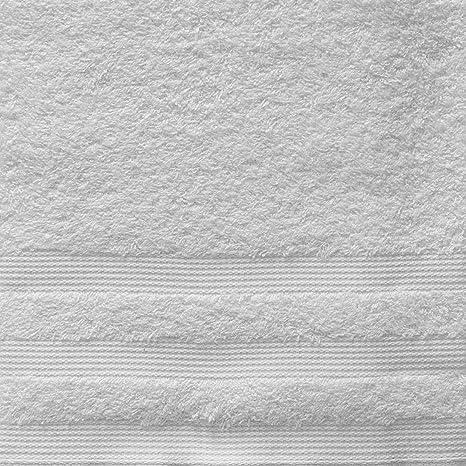 Toalla baño Bassetti 90 x 160 100% algodón 430 gr/m² – blanco