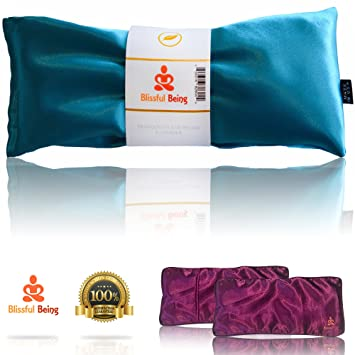 Amazon.com: Blissful Being - Almohadas y fundas de seda para ...