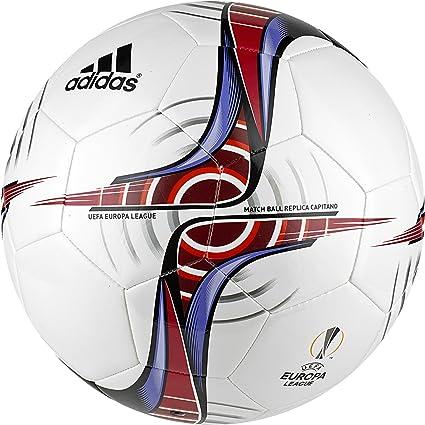 adidas UEFA Europa League Capitano Balón de Fútbol, Hombre, Blanco ...