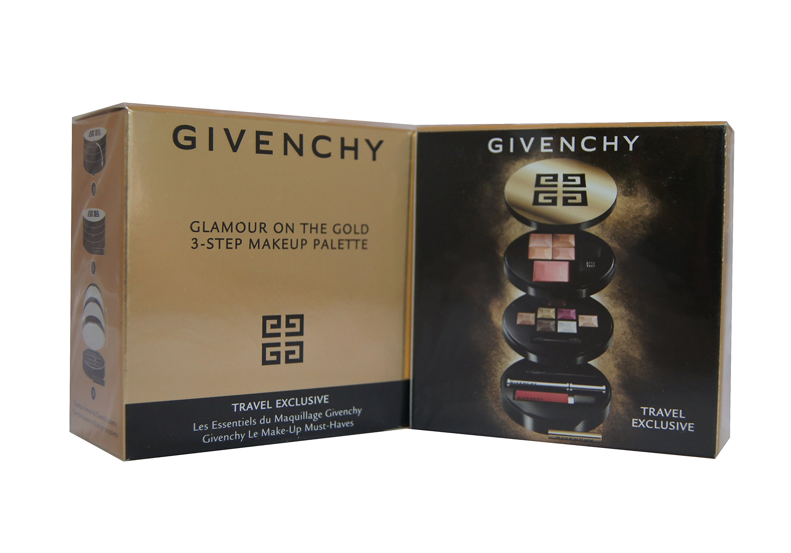 Givenchy Glamour On The Gold 3-Step Makeup Palette by Givenchy (Image #1)