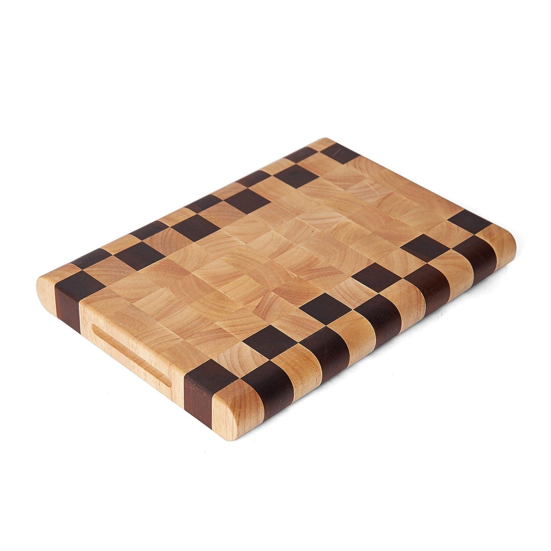 Pfaltzgraff 5208362 Serving Board Brown 14x10-Inch