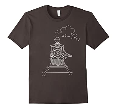 Ingegnere Treno D'epoca Logo T-shirt FN5pZr77U
