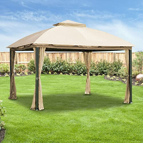 Garden Winds Malibu Gazebo Replacement Canopy Top Cover