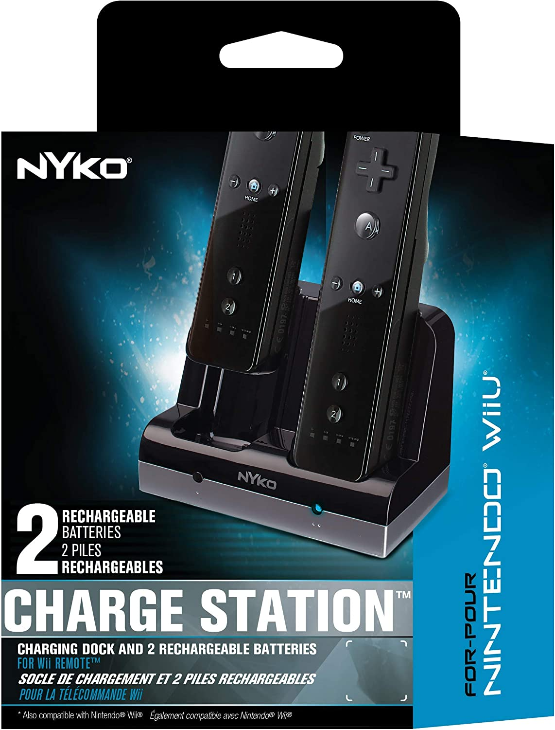 Amazon.com: Nyko Charge Station - 2 Port Controller Charging ...