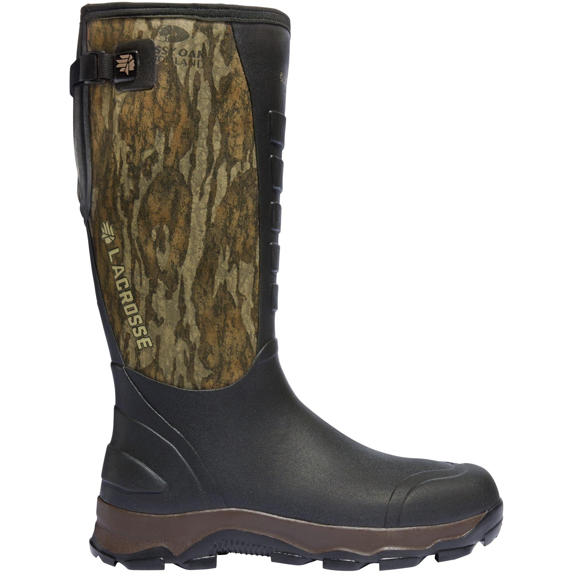 Lacrosse Men's 4xAlpha 16'' Hunting Boot, Mossy Oak Bottomland, 6 M