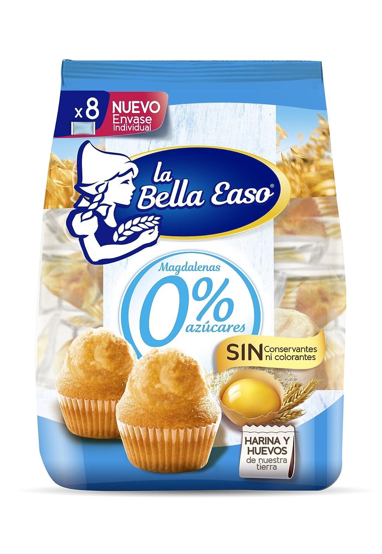 Magdalenas 0% Azúcares - Paquete de 8 x 29.12 gr - Total: 233 gr: Amazon.es: Alimentación y bebidas