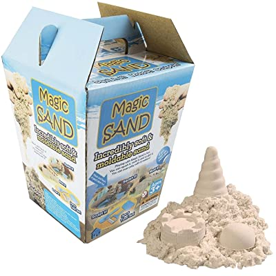 Kids 600g Magic Motion Sand Play Set Mouldable Children's 3pc Sculpting Tools Creative Stress Therapy Soft For Indoors Non Toxic 3+ Years by Sabar