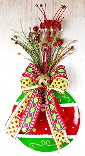 handmade fancy christmas ornament wall decor embellished hanging christmas ornaments large decorated holiday ornaments