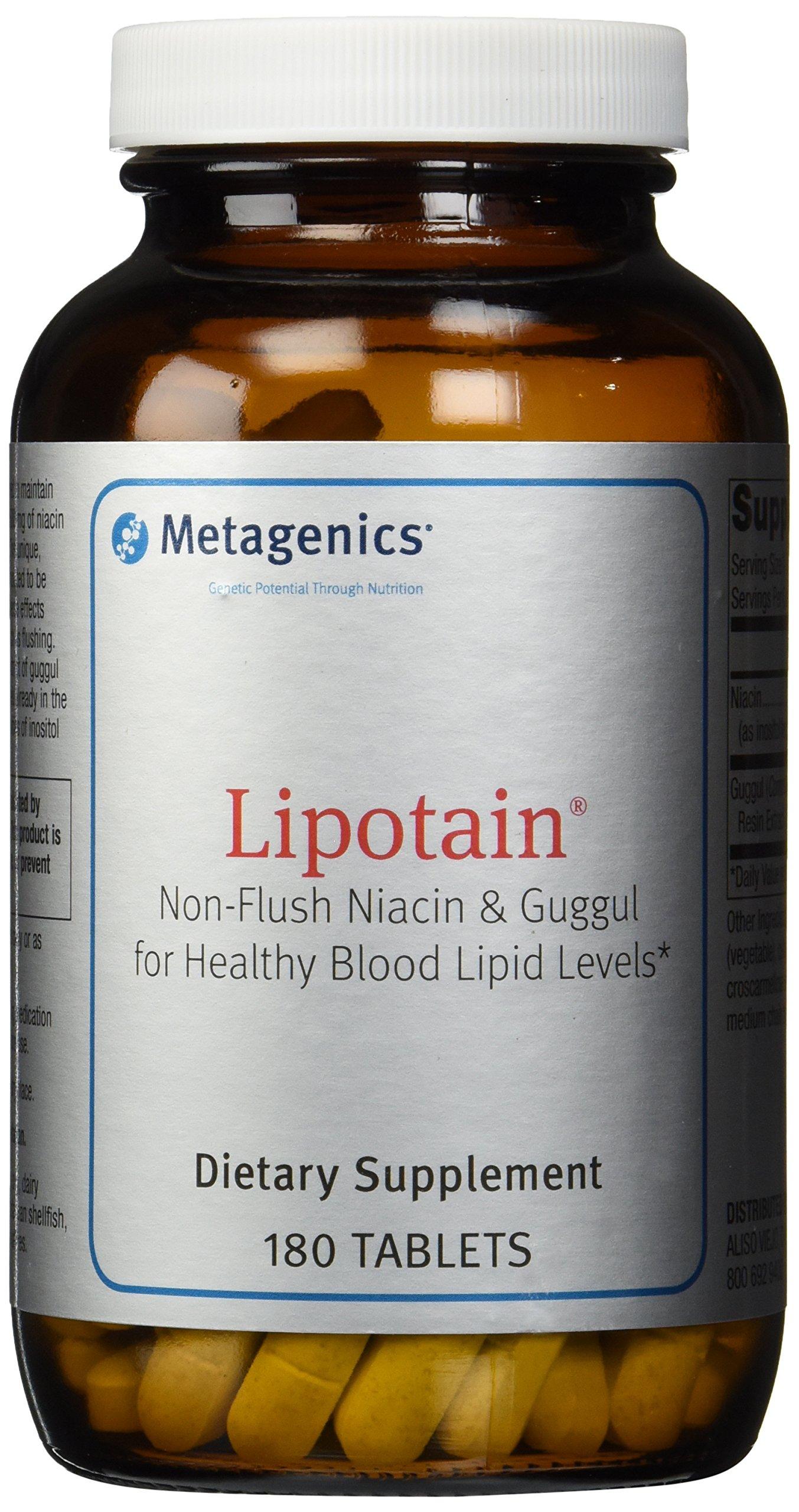 Metagenics Lipotain Dietary Supplement, 180 Count