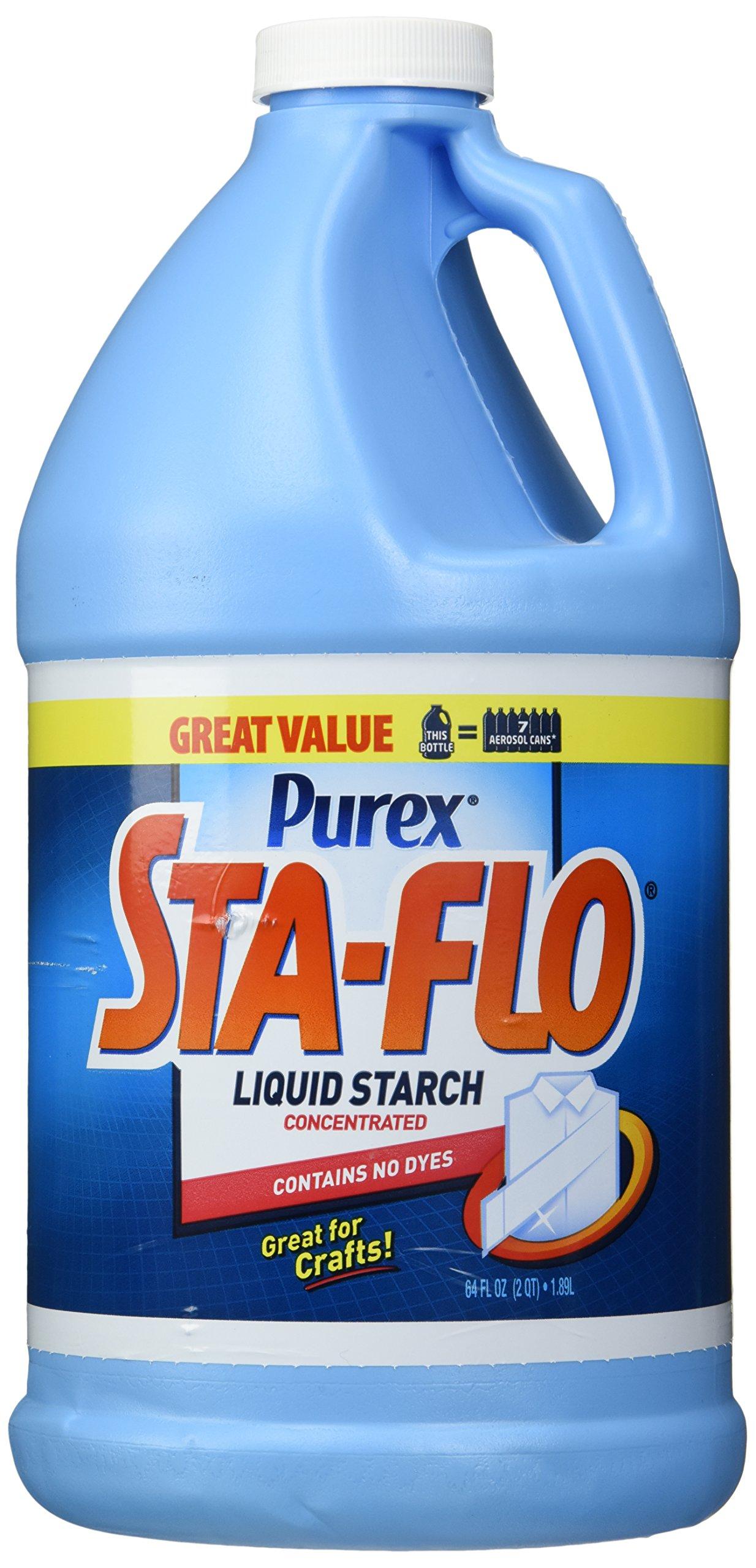 Purex Sta-Flo Liquid Starch, 64 Ounce