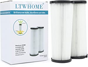 LTWHOME F1 Hepa Filters Suitable for Dirt Devil Vision Vacuum (Pack of 2)