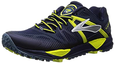 Brooks Cascadia 10 M Mens Running Shoes Cascadia 10 M Midnight/Sulphur  Spring 7 UK