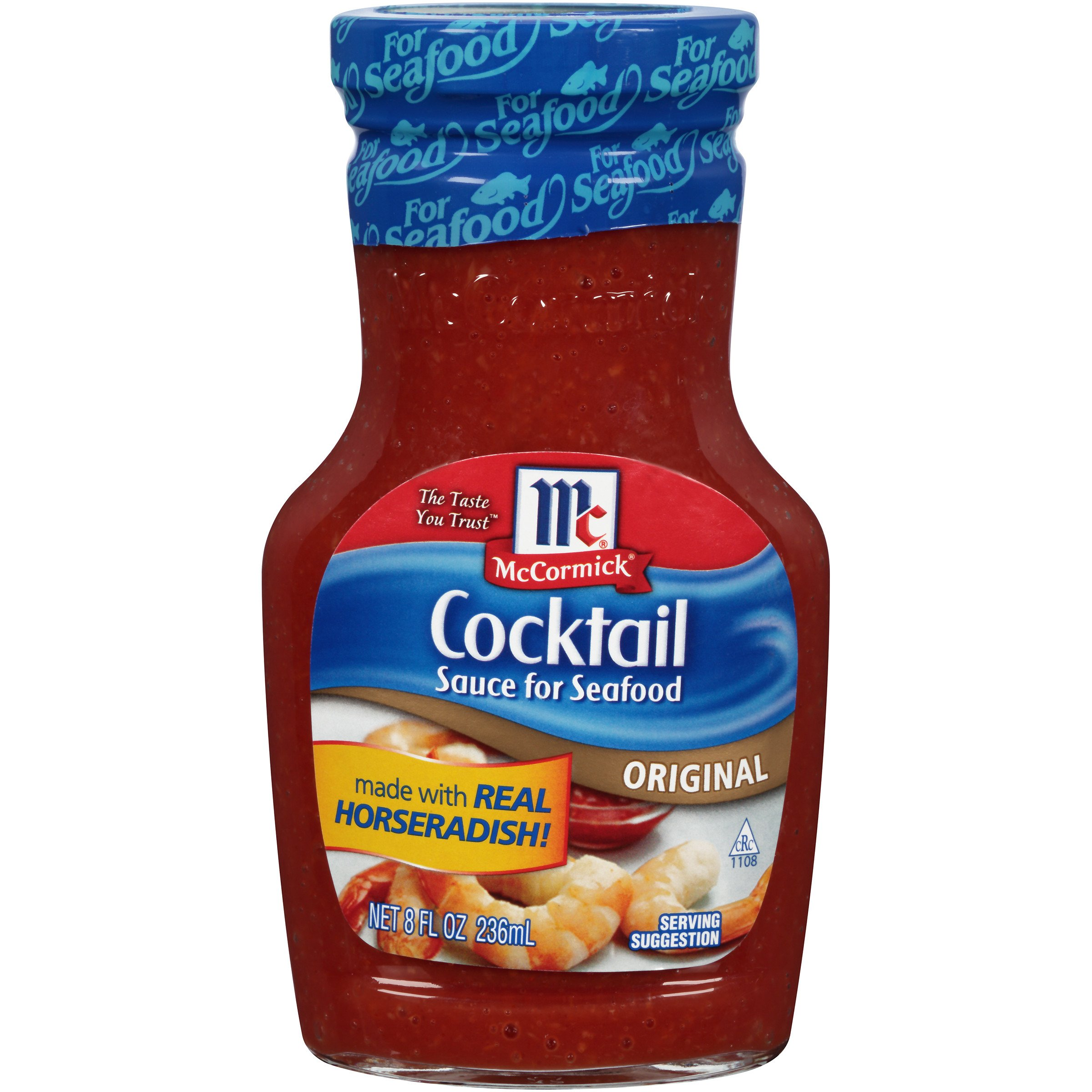 McCormick Golden Dipt Seafood Cocktail Sauce, 8 fl oz