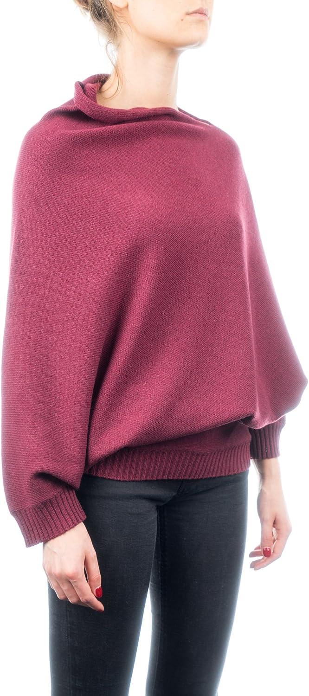 Poncho Jersey aus Cashmere-Gemisch DALLE PIANE CASHMERE f/ür Damen