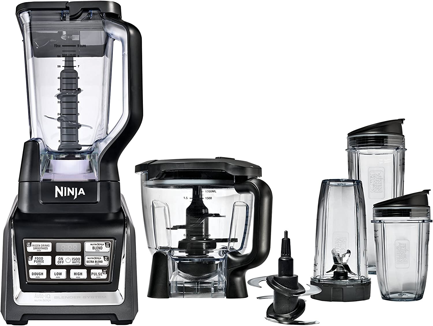 Nutri Ninja Blender/Food Processor Auto-iQ 1200-Watt