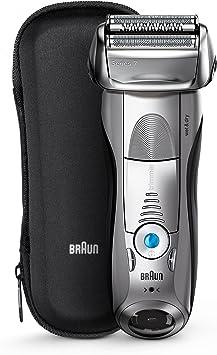 Braun Series 7 7893s Wet&Dry Papel aluminio Recortadora Plata - Afeitadora (Batería, Papel aluminio, Plata): Braun: Amazon.es: Salud y cuidado personal