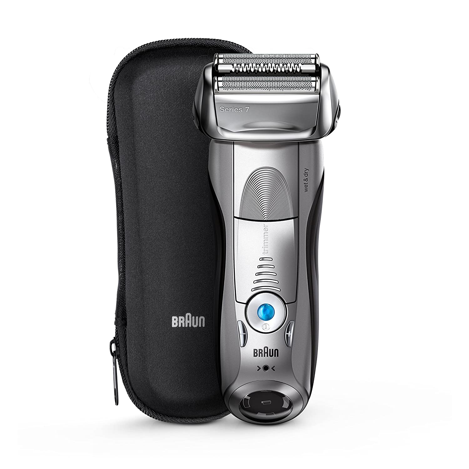 Braun 7893S Wet and Dry Premium Electric Shaver (Silver)  Amazon.in  Health    Personal Care a0820374609d