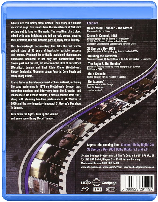 Heavy Metal Thunder - The Movie [Blu-ray] [2012]: Amazon co uk