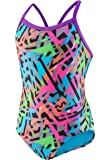 Speedo Women's Swimsuit One Piece Prolt Propel Back Printed-Discontinued