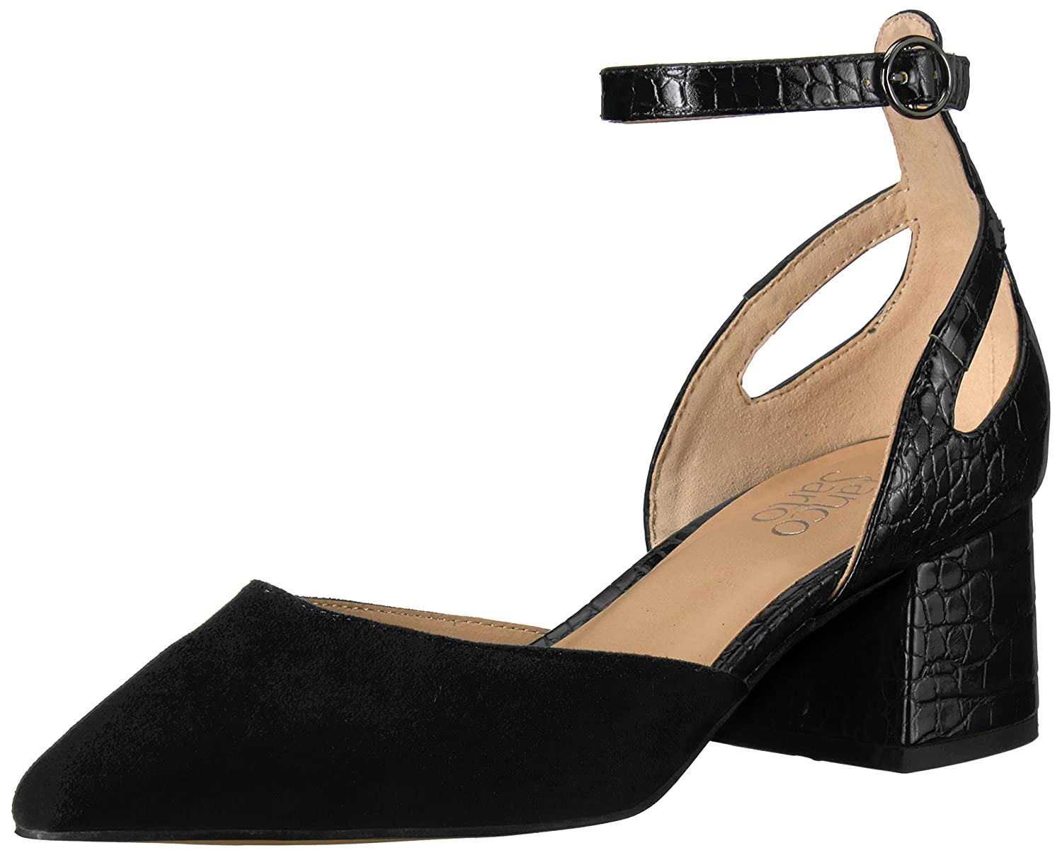Franco Sarto Women's Caleigh Pump B06XSKW4XB 10 B(M) US|Black