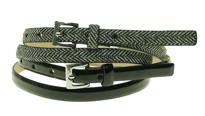 Style & Co 2 For 1 Skinny Belt