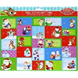 Rudolph The Red Nosed Reindeer Peel and Stick Gift Tags, 300 Tags on 12 Sheets