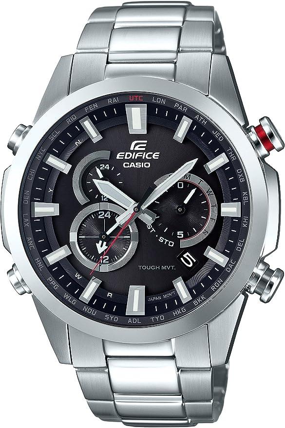 [カシオ] 腕時計 エディフィス 電波ソーラー EQW-T640D-1AJF シルバー